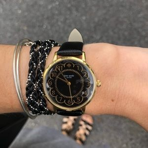 Nate spade scalloped watch